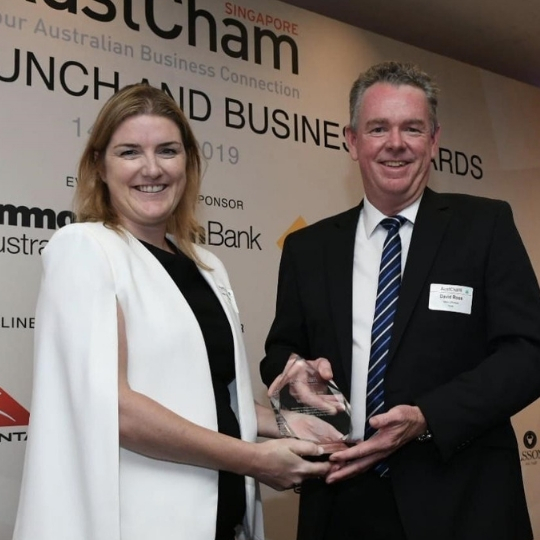 MMA OFFSHORE WINS AUSTCHAM INNOVATION AWARD 2019