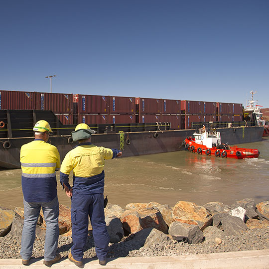 Gorgon LNG Project - 400ft Transportation Barges