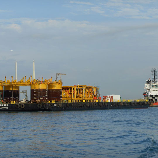 Gorgon LNG Project - Heavy Lift and Tie In Project