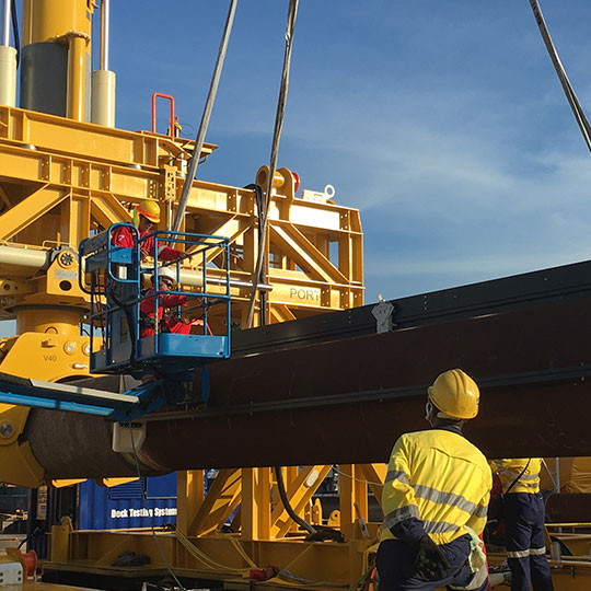 Subsea 7 Emergency Pipeline Repair System Onshore Support