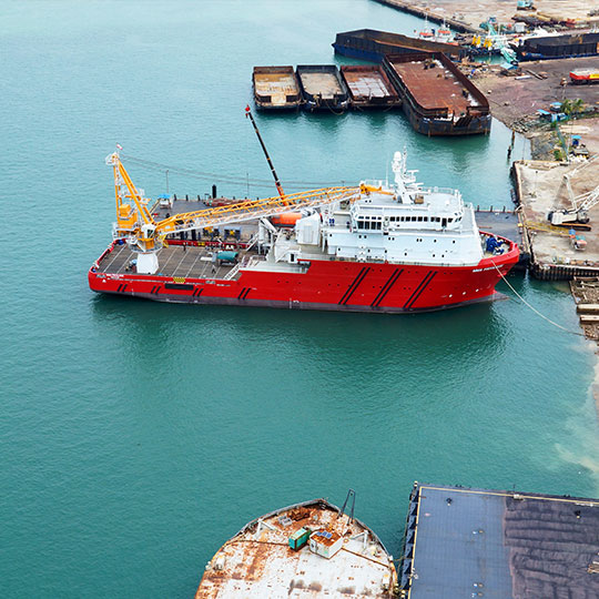 FPSO Support and Accommodation Vessel